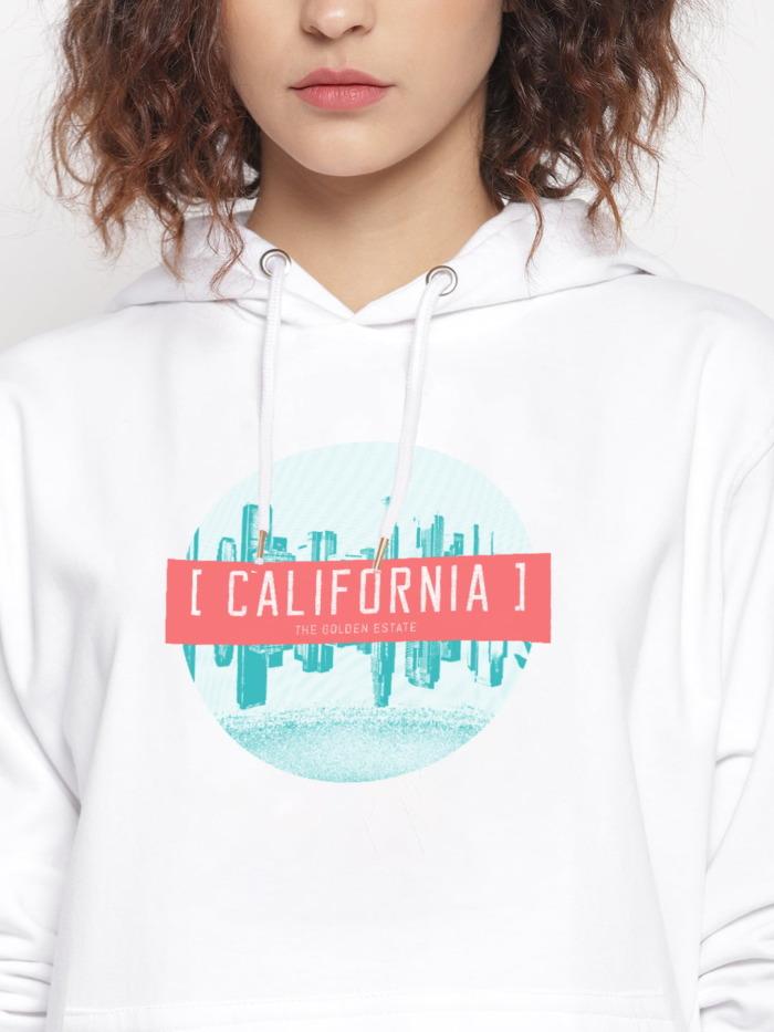 California Graphic Hoodie 1