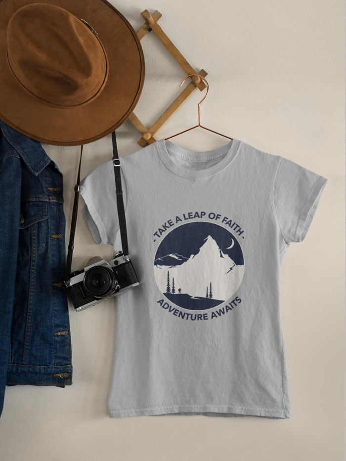 Adventure Awaits Premium T-shirt